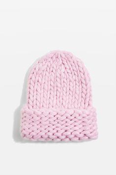 0e5f9d11206 Topshop Handknit Beanie Hat Beanie Hats