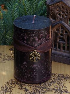 Old World Alchemy Pillar Candle by White Magick Alchemy   http://www.whitemagickalchemy.com/old-world-alchemy-pillar-candle-old-ways-pagan-traditions-spells-and-magick/#