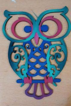 Resultado de imagen para lechuzas pintadas