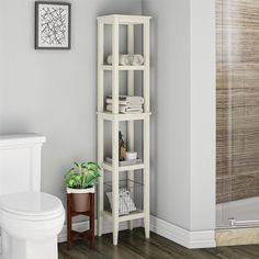 Free 2-day shipping. Buy SystemBuild Franklin Storage Tower, Soft White at Walmart.com Vertical Storage, Extra Storage Space, Storage Spaces, Open Shelving, Shelves, Washing Clothes, Acupressure Massage, Home Furniture, Sweet Home
