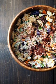 Winter Vegetable Fattoush | Five and Spice