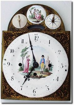 .1790, Austrian Dial Only, from a Grand Sonnerie bracket clock