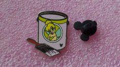 pin broche disney WDW - 2012 Mickey caché Série - Peinture Can Collection - Fée Clochette