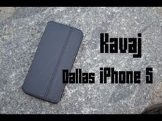 Kavaj Dallas iPhone 5 Lederhülle REVIEW - YouTube