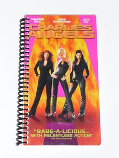 Charlie's Angels VHS Movie Notebook