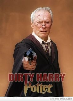 Dirty Harry-Harry Potter