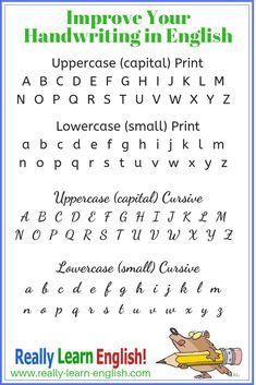 Cursive alphabet worksheets cursive alphabet worksheets cursive letter case alphabet writing cursive writing gsm 80 120 for decorative cursive letters with swirlsHow To Improve Your… English Handwriting Styles, Different Handwriting Styles, Handwriting Examples, Learn Handwriting, Handwriting Alphabet, Improve Your Handwriting, Hand Lettering Alphabet, Different Writing Styles, Cursive Letters