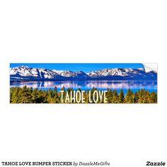 TAHOE LOVE BUMPER STICKER