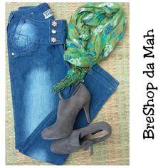 BreShop da Mah: Calça Jeans Skinny #duplojeans