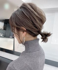 Pin on Hairstyles Pin on Hairstyles Cute Hairstyles For Medium Hair, Bob Hairstyles, Medium Hair Styles, Natural Hair Styles, Dance Competition Hair, Short Hair Ponytail, Messy Short Hair, Shot Hair Styles, Hair Arrange
