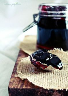 Mermelada de vino tinto - Red wine jam