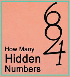 How many hidden numbers show in the picture?