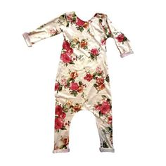 (Preorder) Winter Floral Romper - Amebel baby - 1