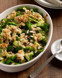 Broccoli + Cheddar Casserole w/ Leeks //  More #Thanksgiving Casseroles: http://www.foodandwine.com/slideshows/casseroles #foodandwine