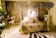 If you want to fulfill the bedroom with some magical and fairy tale atmosphere, we have one unusual thing to help. Let yourself dive in a magical forest with no fear! With this tree-bed forest becomes safe and warm in the night.  Continue reading at our website: http://gtfshop.com/magical-forest-in-your-bedroom