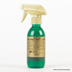Gold Label Tea Tree Mist WIth MSM Antibacterial and anti-fungal tea tree oil spray with the addition of MSM to further maintain the healing process.
