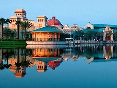We loved Coronado Springs Resort at Disney, centrally located = quick trips on the bus to all of the parks, great service, and FABULOUS pool!