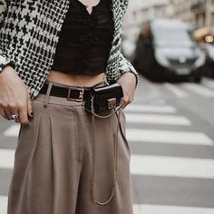 We are saying yes to fanny pack! As long as it is as cute as this one tho . See 10 sleek ways to wear the modern fanny pack plus shop our top minimal-chic picks. Link in bio   . . .{ or shop the looks: http://bit.ly/bdl-shopinsta} . . .  @natalieoffduty wearing a sleek @givenchyofficial #beltbag . . #fashion #fashionblogger #fashionista #fashionblog #fashionlover #fannypack #shopfashion #eyecandy #bagobsession #wardrobeenvy #details #fashion2018 #fashiontrends2018 #givenchy