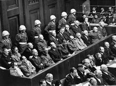 After WWII, some people responsible for crimes committed during the Holocaust were brought to trial. The Nuremberg Trials took place in Nuremberg, Germany in 1945 and 1946. Judges from the Allied powers conducted the hearings of 22 major Nazi criminals. 12 Nazis were sentenced to death, while other received short prison sentences or no penalty at all.