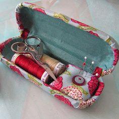 Fabriquer une boîte à couture de voyage