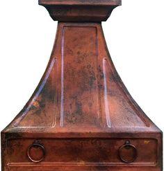 kitchen copper range hood