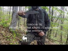 Condor Primitive Bush Knife overview - YouTube