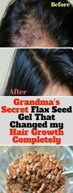 Grandma's Secret Flax Seed Gel That Changed my Hair Growth Completely #HairGrowth
