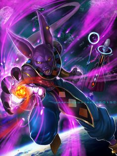 God of Destruction Beerus by GraphicFortress.deviantart.com on @DeviantArt