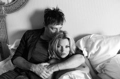 Kate Moss & Jamie Hince by Terry Richardson