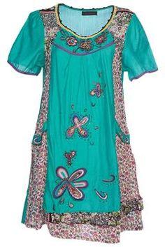 Birdsnest Hand Picked Floral Tunic - Womens Tunics - Birdsnest Online Store