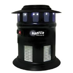 Vortex Insect Trap,  Weatherproof trap emits UV light and titanium dioxide to mimic human scent and attract insects.  Your Price: $34.03
