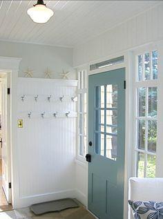 hal kleurige deur