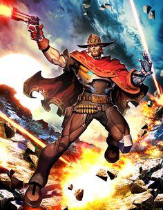Overwatch - McCree by GENZOMAN.deviantart.com on @DeviantArt