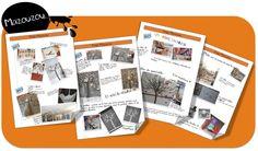 L'arbre et l'hiver de Melissa Pigois - Bout de gomme French School, Nouvel An, Photo Wall, Polaroid Film, Montessori, School Stuff, Nature, Inspiration, Arts Plastiques