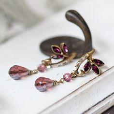 Seraphic Countenance Indie Drop Earrings By Sweet Romance
