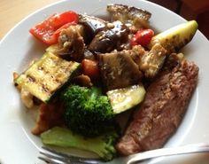 Grilled Veggie Salad | @fairyburger @ fairyburger