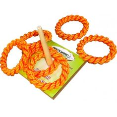 An oldie but a goodie. Miss TT and I have regular backyard competitions with this Quoits Junior Set.