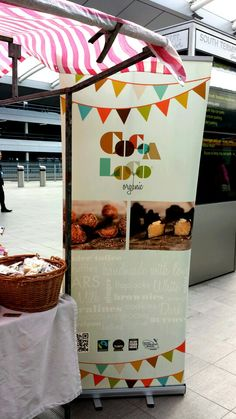Pop Up biz Cocoa Loco looking great!
