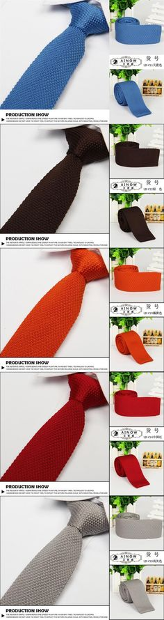 Narrow Unisex Ties For Men Knitting Solid Polyester Diy Groom Ties Wedding Party Accessories Choice 2016 Hot Mt004 From Marrysa, $6.83 | Dhgate.Com