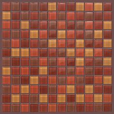 """Glass tile by Shaw Floors in style """"Glass Mosaic 12"""" color 00600"""