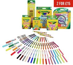 Buy Crayola 70 Piece Stationery Set at Argos.co.uk, visit Argos.co.uk to shop online for Painting, drawing and colouring toys, Creative and science toys, Toys Crayola Set, Chalk Pencil, Art And Hobby, Stationery Craft, Stationary Set, Coloured Pencils, Craft Bags, Argos, Painting For Kids