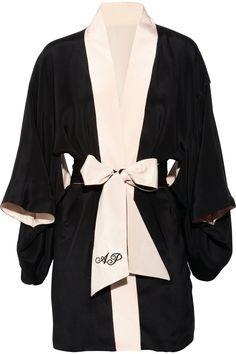 Agent Provocateur Silk Kimono