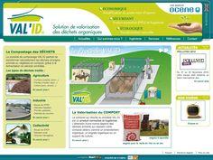 Valid, solution de valorisation des déchets organiques. Réalisé par StartUp sous E-majine. www.valid-compost.com