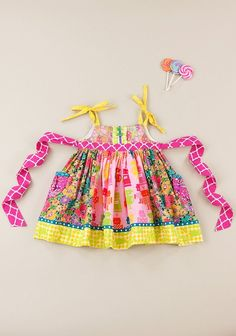 There Is Always Time For Tea Liberty Silly Knot Dress (RV $82)