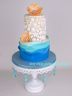 It's a Nice Day for a (Key West) Wedding  - Cake by Sharon A.