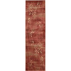 Shop for Nourison Somerset Flame Area Rug (2' x 5'9). Get free shipping at Overstock.com - Your Online Home Decor Outlet Store! Get 5% in rewards with Club O!