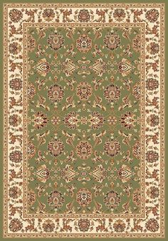 Chateau 5.3 x 7.7 Area Rug : Green by Kas