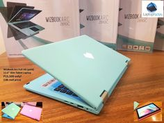 """Restock! Wizbook Arc Laptop tablet Teal color!  Bnew WizBook Arc - Slim 11.6"""" Full HD Tablet Laptop! P13,500 only! (17k - 18k Mall Price!) Full Cash payment only. No installment, No CC.  Intel Atom Quad Core Z8300 1.44ghz, 4gb ram, 11.6"""" Full HD 1080p, 32gb hdd (128gb max w/ SD Micro card), intel hd graphics, weight only 1.1kg!  Colors: Pink and Teal Package: box, unit, charger, manuals. Warranty: 6 months manufacturers warranty Units Available: 10 units  Pickup at our office 717 P and S…"""