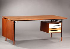 Finn Juhl work table, model BO 69