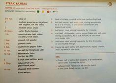 Steak Fajitas 21 Day Fix Menu, 21 Day Meal Plan, 21 Day Fix Diet, Diet Meal Plans, Fixate Recipes, Healthy Recipes, Healthy Habits, Beef Recipes, Fixate Cookbook